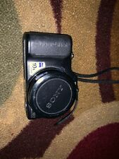 Sony Cyber-shot DSC-H20 10.1 MP Digital Camera - Black Point & Shoot Untested