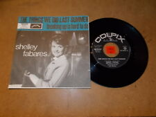 SHELLEY FABARES - THE THINGS WE DID LAST SUMMER - RARE 45 PS - LISTEN - POPCORN