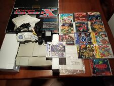 NEC PC ENGINE DUO RX TURBO TOP CONDITION + 13 GAMES SUPER CDROM / HU CARD