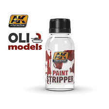 Paint Stripper 100ml Bottle for hobby models and figures - AK Interactive 186