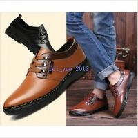 Business Mens Fashion Casual/Dress Formal Oxfords Flats Shoes British Lace Up