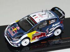 Ixo 1:43 Ford Fiesta WRC #1 S.Ogier Rally Monte Carlo 2018 RAM661 Brand new