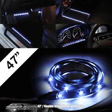 """Universal 47"""" 120cm 12V Flexible 60 White SMD LED Light Strip 3M Adhesive Back"""