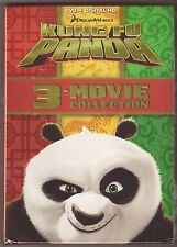 Kung Fu Panda 1, 2 & 3 - DVD + Digital HD 3-Movie Film Collection BRAND NEW