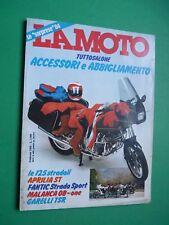 LA MOTO Febbraio 1984 Beta TR 32 Kawasaki 900 Cagiva 500 GP Parigi Algeri Dakar
