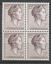 Luxemburg 646 postfris blok van vier (2)