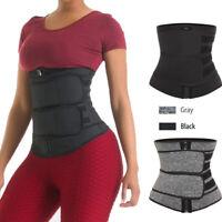 US Women Body Shaper Shapewear Waist Trainer Cincher Underbust Corset Sauna Vest