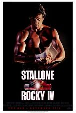 "ROCKY IV (4) Movie Poster [Licensed-NEW-USA] 27x40"" Theater Size (ALT1) Stallone"
