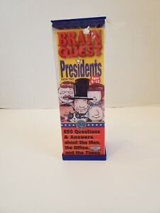 Brain Quest Presidents ages 9-12 850 Questions and Answers