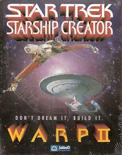 (PC) - STAR TREK - STARSHIP CREATOR WARP II - NEUWARE!
