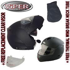 Cascos lisos Viper motocicleta para conductores