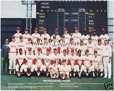 1964 PHILADELPHIA PHILLIES 8X10 TEAM PHOTO BUNNING ROJAS DICK ALLEN CALLISON #2