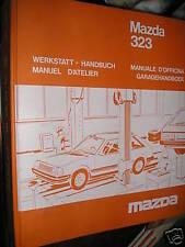 Mazda 323 années 1981 ...: MANUEL D'ATELIER