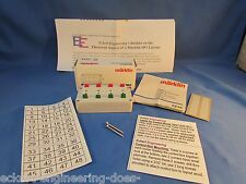 EE 7272 NEW Marklin Control Box f 4 Double Solenoid Devices for old style plugs