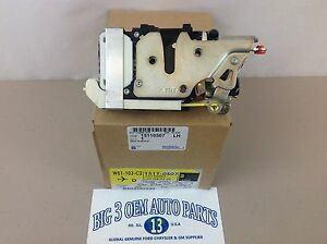 02-09 Chevrolet Trailblazer GMC Envoy LH Front Door LATCH/ACTUATOR Lock new OEM