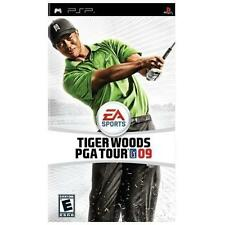 Tiger Woods PGA Tour 09 -- Playstation Portable PSP -- GREAT CONDITION