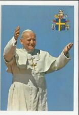 CARTOLINA PAPA GIOVANNI PAOLO II 1981