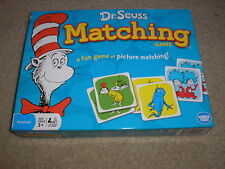 Dr. Seuss Matching Game Preschool Ages 3 and up