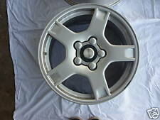 One Pair (2) 2000 GM Corvette Alloy Wheels 17 X 8.5
