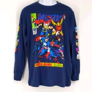 Marvel Avengers Long Sleeved Shirt Medium New Without Tags
