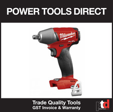 "NEW MILWAUKEE M18 IMPACT WRENCH 1/2"" FUEL CORDLESS M18FIWF12-0 (GEN II) SKIN"