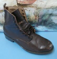 Arizona Womens Brown Leather High Lace Up Boots Shoes Sz 9M