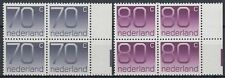 Niederlande 1991 ** Mi.1415/16 A Bl/4 Freimarken definitives Ziffern [st2322]