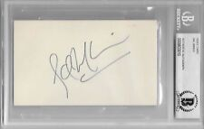 SAL MINEO Signed Index CARD ACTOR Plato Rebel Without a Cause Exodus BECKETT COA
