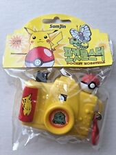 Pokemon Pocket Monster Mini Toy Camera Yellow Sam Jin Pikachu Bulbasaur