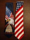 2 Very Nice Studio 2000 Patriotic Men's Neckties
