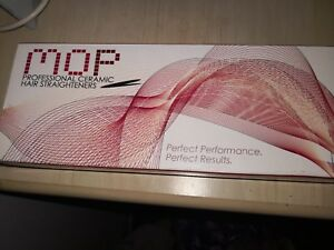 Mop ceramic hair straighteners NEW