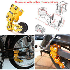 Universal Aluminum Adjuster Chain Tensioner Roller For Motorcycle Chopper Golden