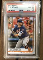 Pete Alonso 2019 Topps Rookie #475 PSA 10 GEM MINT New York Mets