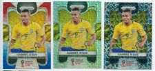 2018 Panini Prizm World Cup Gabriel Jesus Red Blue Mojo Lazer Lots*3 Brazil