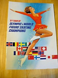 """1987 Tour of Olympic & World Figure Skating Champions"" Program - NICE"