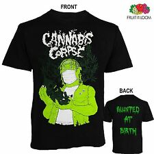 CANNABIS CORPSE-Blunted at Birth-marijuana-themed band, T_shirt- sizes: S to 6XL