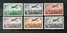 France 1936 *** Survol de Paris *** Y&T N°s 8 à 13 *** Neufs Sans Charnière