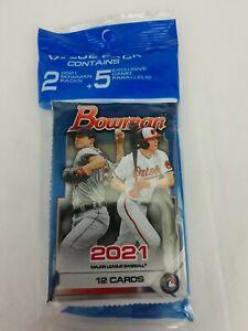 2021 MLB Bowman Baseball Value Cello Pack + 5 Camo Parrallel! Sealed