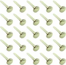 Clipco Paper Fasteners Medium 3/4-Inch Brass Plated (100-Pack)