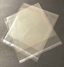 """900- Clear cellophane bags, 6 1/2"""" x 6 1/2"""" with a peel and stick closure"""