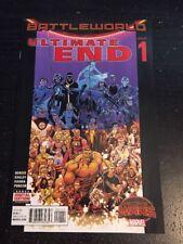 """Ultimate End#1 Incredible Condition 9.0(2015)""""Secret Wars"""" Battleworld!"""