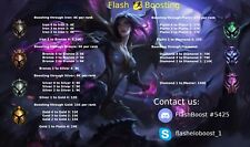 Flash Boosting | LoL | League of Legends | Elo Boost | Eloboost