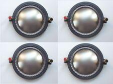 4 pcs of Replacement Diaphragm for B&C DE800, WGX800-8 Driver 8 ohms 74.46mm