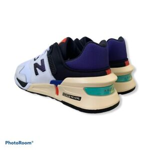New Balance 997 Sport Munsell White/Deep Blue Mens Size 9 MS997JEA