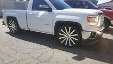 "26"" Velocity V12 Wheels Rims Fit Chevy GM 1500 Silverado Escalade tahoe Sierra"