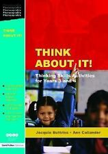 Think About It!: Thinking Skills Activities for Years 3 and 4 (Nace/Fu-ExLibrary