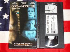 Gods and Monsters (Vhs, 1998) Ian McKellen, Brendan Fraser, Lynn Redgrave