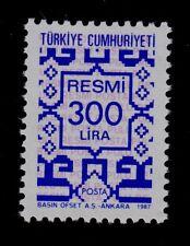 TURKEY   SCOTT# O182  MNH   OFFICIAL STAMP