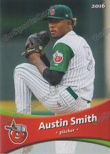 2016 Fort Wayne Tin Caps Austin Smith RC Rookie Padres Minor