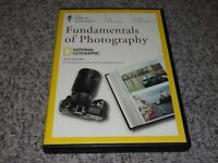 GREAT COURSES National Geographic Fundamentals Of Photography 4 DVD Set SARTORE